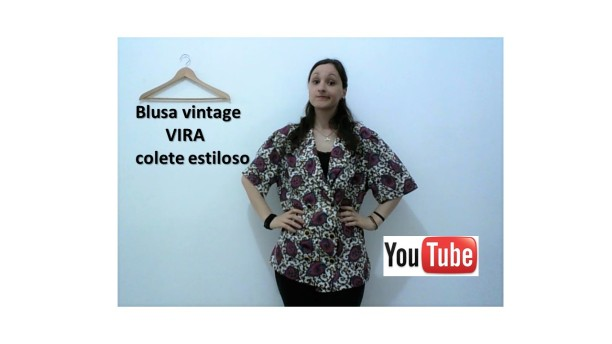 MINI Blusa vintage VIRA colete