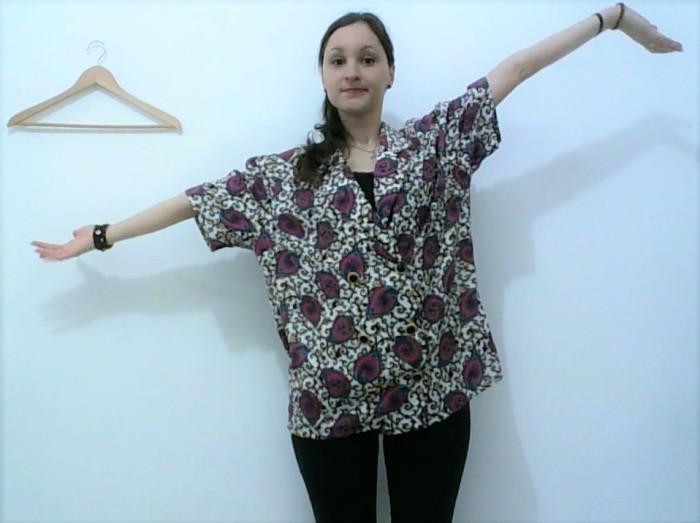 Reciclagem camisa vintage VIRA colete 1