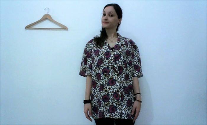 Reciclagem camisa vintage VIRA colete 3